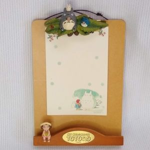 My Neighbor Totoro Hanging Clipboard w/postcard